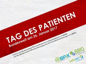 Banner Tag des Patienten 2017