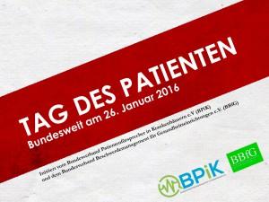 Banner Tag des Patienten