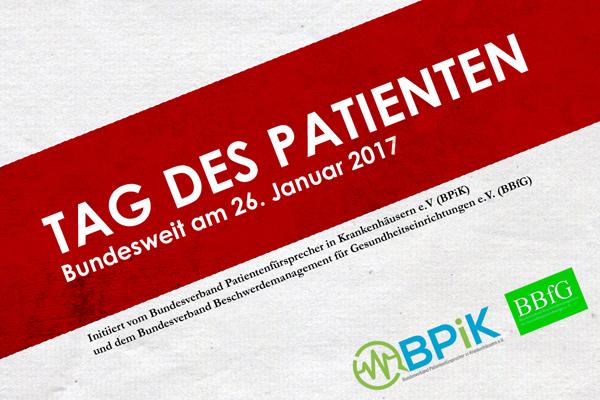 Infos zum Tag des Patienten