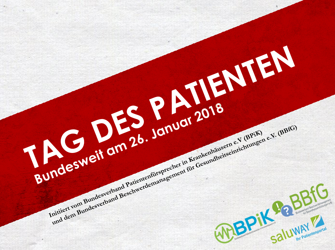 Banner Tag des Patienten 2018