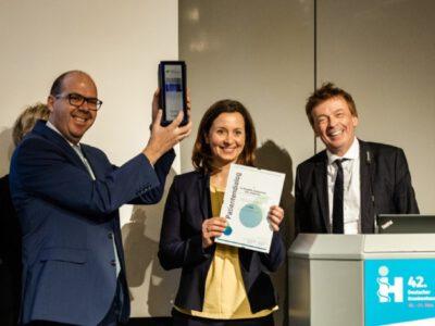 Patientendialog Gewinner 2019 Beschwerdemanagement BBfG Jury